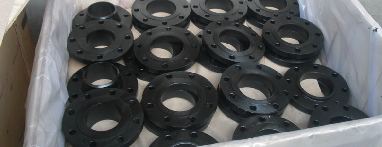 ASTM Carbon Steel Flanges in our stockyard