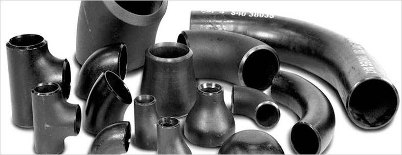 Carbon Steel Buttweld Pipe Fittings Manufacturer in India – ASTM A234 WPB, ASTM A420 WPL6 in our stockyard