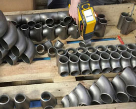 Pipe Fittings in our stockyard