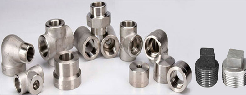 ASTM A182 Grade 316 Stainless Steel Forged Fittings in our stockyard