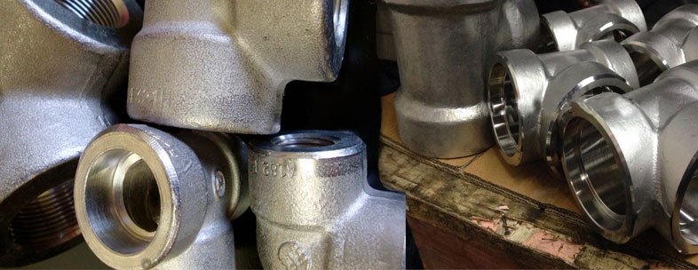 ASTM A182 Grade 317L Stainless Steel Forged Fittings in our stockyard
